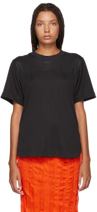 adidas by Stella McCartney Black Train Climachill T-Shirt