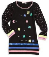 Billieblush Toddler's, Little Girl's & Girl's Video Game Sweater Dress