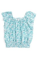 Splendid Girl's Off The Shoulder Floral Top