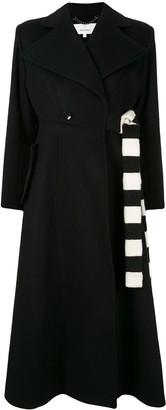 AKIRA NAKA Wrap Front Coat