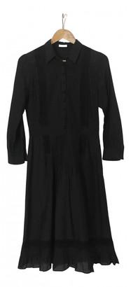 Cacharel Black Cotton Dresses