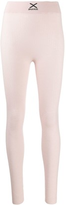 Barrie Ribbed Detail Leggings