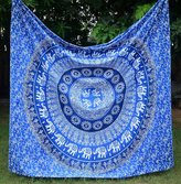 Christmas Special Gift New Ombre Mandla Tapestry, Bohemain beauitul wall hanging Hippy Hippy Boho Throw Dorm decor Tapestry By Mangal Kalash
