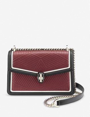 Bvlgari Serpenti Forever quilted leather shoulder bag