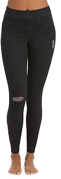 Spanx Distressed Denim Skinny Jean Leggings