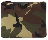 Givenchy Camouflage-print document holder