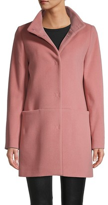 Cinzia Rocca Icons Long-Sleeve Wool Coat