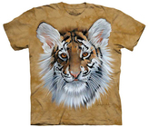 The Mountain Tan Tiger Cub Sublimated Tee - Kids