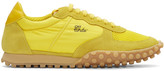 Off-White Yellow Vintage Runner Sneakers