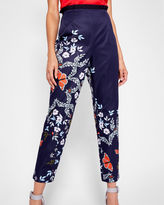 Ted Baker Kyoto Gardens tapered trousers