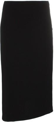 Poiret asymmetric hem midi pencil skirt