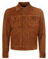 Sandro Arrows Suede Jacket