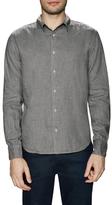 Save Khaki Solid Cotton Sportshirt