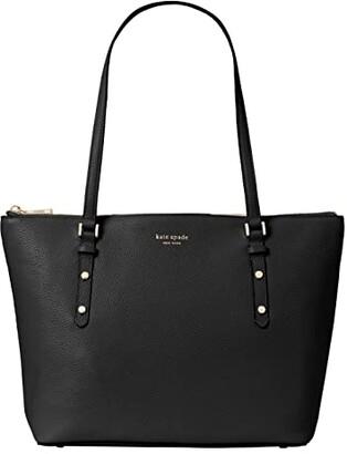 Kate Spade Polly Small Tote (Black) Handbags