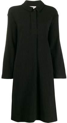 YMC polo-neck midi dress
