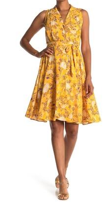 Nanette Lepore Sleeveless Button Front Dress