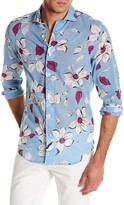 Ganesh Long Sleeve Dress Slim Fit Shirt