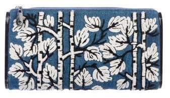 Edie Parker Embroidered Lara Clutch