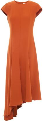 Iris & Ink Alexandra Asymmetric Crepe Dress
