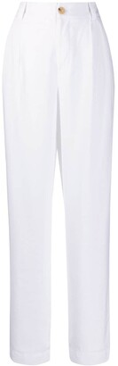 Vince Textured Loose Leg Trousers