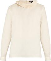A.P.C. Juliette oxford-cotton blouse