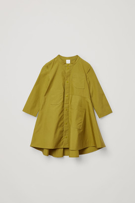 Cos Cotton Dress With Pockets