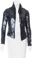 Gryphon Sequin Silk Jacket