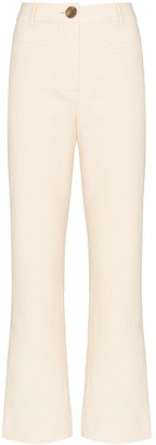 REJINA PYO High-Rise Kick-Flare Trousers