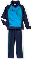 Puma Little Boys' 2-Pc. Tricot Track Jacket and Pant Set