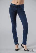 Skinny Leg Jeans in Blue Acid