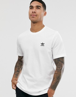 adidas essentials t-shirt in white