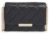 Kate Spade 'Emerson Place Overlay - Lenia' Leather Shoulder Bag - Black