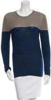 Akris Striped Cashmere Top