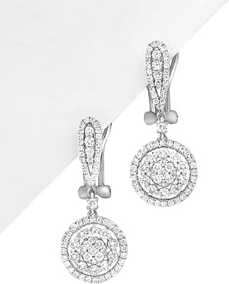 Diana M Fine Jewelry 18K 1.88 Ct. Tw. Diamond Drop Earrings