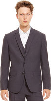 Kenneth Cole Reaction Two-Button Grid Suit Jacket