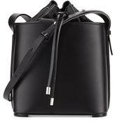 3.1 Phillip Lim Hana Leather Drawstring Bucket Bag, Black