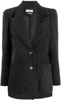 Etoile Isabel Marant Dake single-breasted corduroy blazer