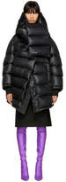 Balenciaga Black Outerspace Puffer Jacket