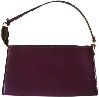 Louis Vuitton Pochette Accessoire Purple Cloth Clutch bags