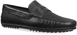 Tod's Men's City Leather Penny Drivers