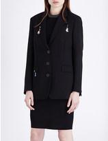 Christopher Kane Oversized wool jacket