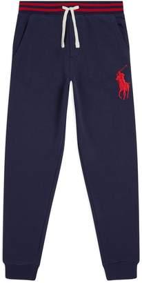 Ralph Lauren Big Polo Pony Stripe Sweatpants