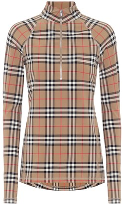 Burberry Vintage Check turtleneck top