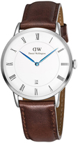 Daniel Wellington Dapper St Mawes 1120DW Men's Stainless Steel and Leather Watch