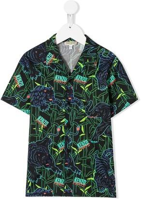 Kenzo logo short-sleeve shirt