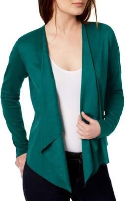 INC International Concepts Open-Front Drape Cardigan