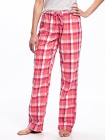 Old Navy Patterned Poplin Sleep Pants for Women