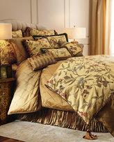 "Austin Horn Classics Chirping Bird Pillow with Tassel Fringe, 22""Sq."