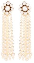 Stella McCartney Faux pearl clip-on earrings