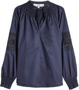 Tibi Embroidered Cotton Tunic